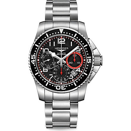 LONGINES L3.696.4.53.6 HydroConquest stainless steel watch