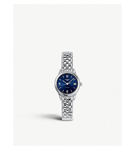 LONGINES L42744966 旗舰传统不锈钢手表