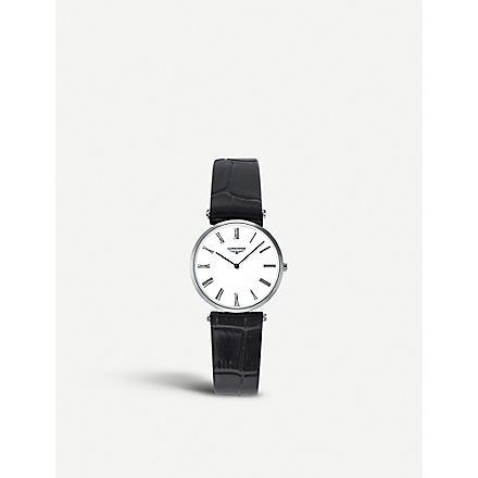 LONGINES L4.512.4.11.2 La Grande Classique steel watch