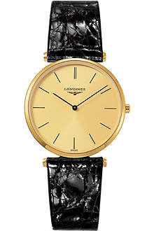LONGINES L4.709.2.32.2 La Grande Classique gold-toned steel watch