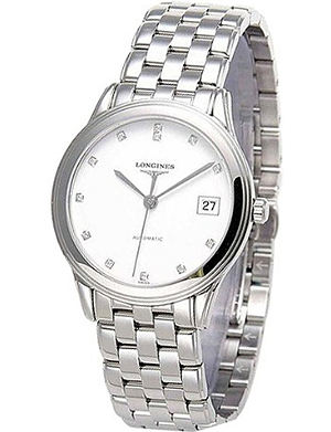 LONGINES L4.774.4.27.6 Heritage stainless steel watch
