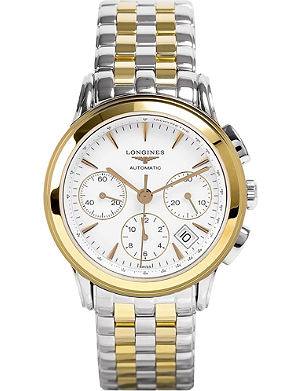 LONGINES L4.803.3.22.7 Heritage stainless steel watch