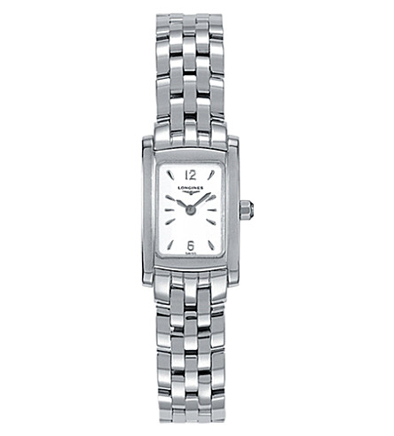LONGINES L5.158.4.16.6 DolceVita stainless steel watch