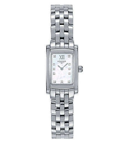 LONGINES L51584846 DolceVita stainless steel watch