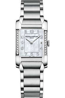 BAUME & MERCIER Hampton diamond watch m0a10051