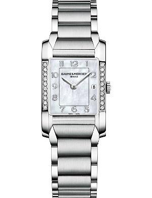 BAUME & MERCIER M0A10051 Hampton diamond watch