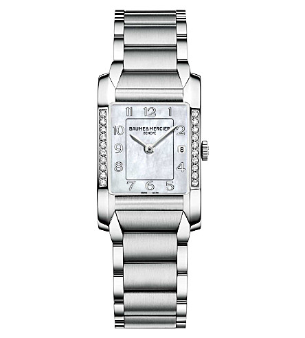 BAUME & MERCIER M0A10051 Hampton diamond watch
