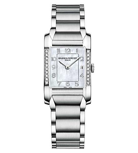 BAUME & MERCIER M0A10051 汉普顿钻石手表
