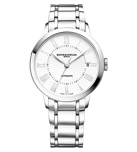BAUME & MERCIER Classima 10220 stainless steel watch