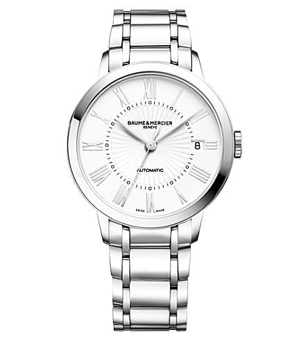BAUME & MERCIER Classima 10220 stainless steel watch