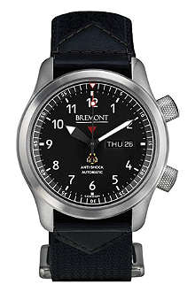 BREMONT Martin Baker MBII/GR stainless steel watch