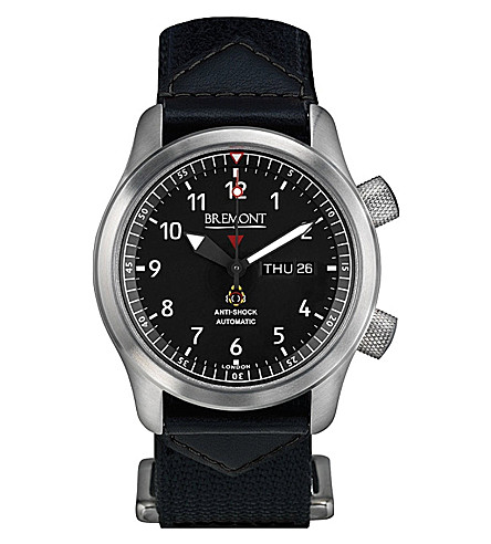 BREMONT Martin Baker MBII/GR stainless steel watch (Steel