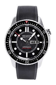 BREMONT S2000/BK Supermarine stainless steel watch