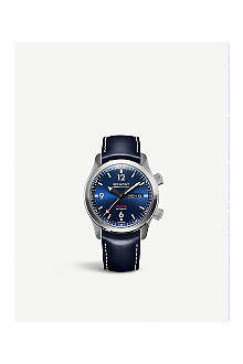 BREMONT U2/BL-BLUE stainless steel watch