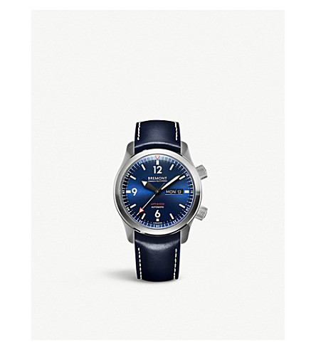 BREMONT U-2/BL-BLUE stainless steel watch