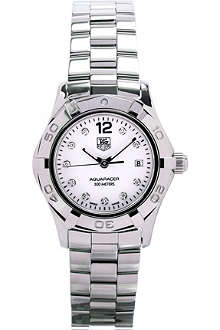TAG HEUER Aquaracer diamond dial watch 27mm