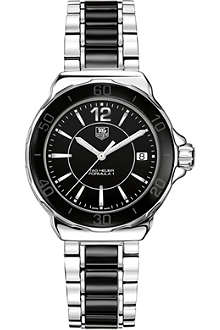 TAG HEUER Formula 1 steel & ceramic watch 37mm