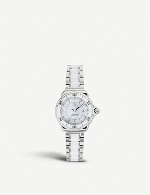 TAG HEUER Formula 1 steel ceramic diamonds dial & bezel watch 32mm