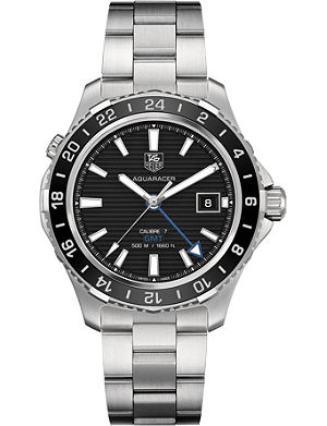 TAG HEUER WAK211A.BA0830 Aquaracer stainless steel watch