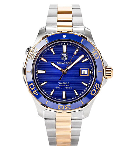 TAG HEUER WAK2120.BB0835 Aquaracer Calibre 5 watch