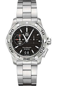 TAG HEUER Aquaracer 300m grande date alarm watch 39mm