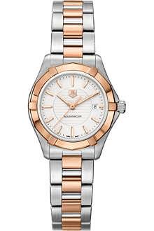 TAG HEUER Aquaracer silver watch 27mm