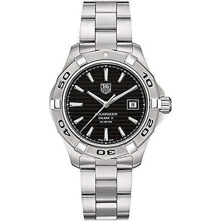 TAG HEUER Aquaracer 300m calibre 5 automatic watch 41mm (Steel