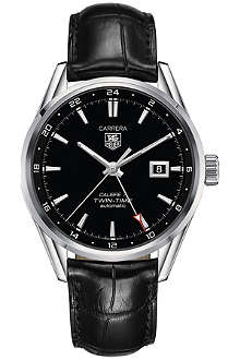 TAG HEUER Carrera Calibre 7 Twin-Time watch