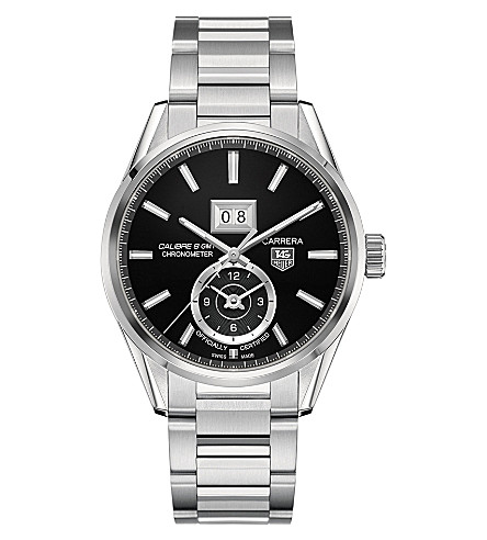TAG HEUER Carrera GMT Grande Date watch