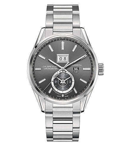 TAG HEUER WAR5010.BA0723 Carrera GMT Grande Date watch