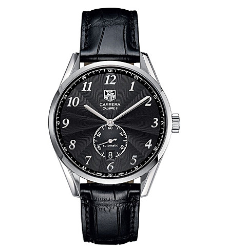 TAG HEUER Carrera calibre 6 heritage automatic watch 39mm (Steel