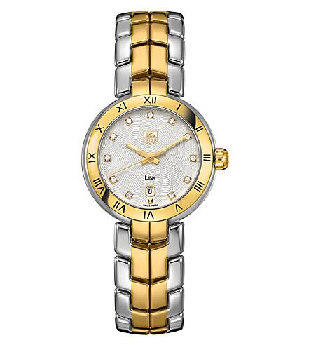 TAG HEUER WAT1450BB0960 stainless steel watch 29mm (Diamond