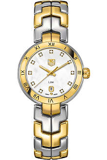 TAG HEUER Two-tone lady link quartz watch