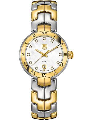TAG HEUER WAT1453BB0960 Two-tone lady link quartz watch