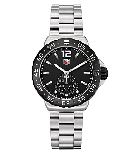 TAG HEUER Formula 1 grande date watch 42mm (Steel
