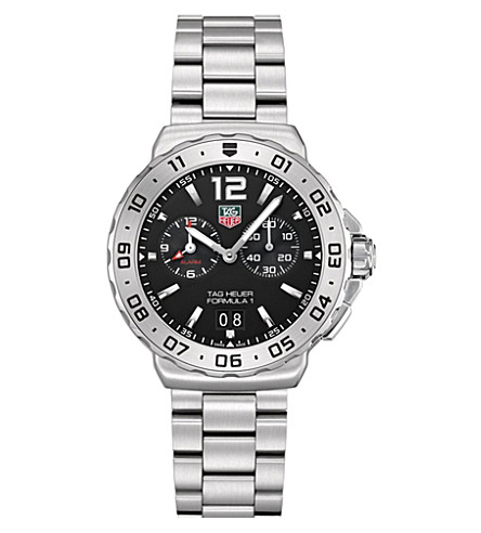 TAG HEUER Formula 1 grande date alarm watch 42mm (Steel