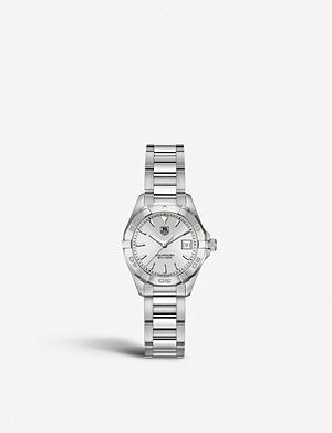 TAG HEUER WAY1411BA0920 Aquaracer polished steel watch