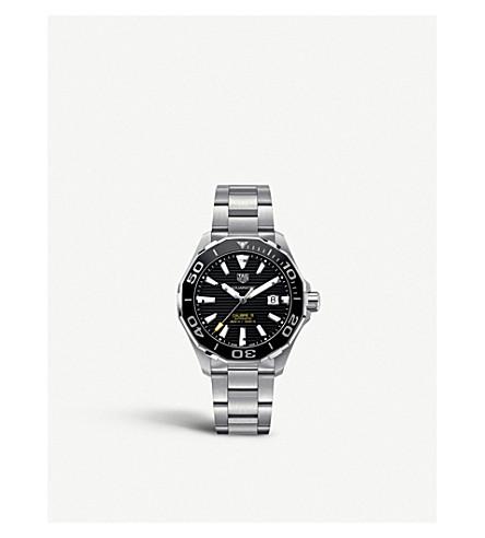 TAG HEUER WAY201ABA0927 竞潜不锈钢腕表 (黑色