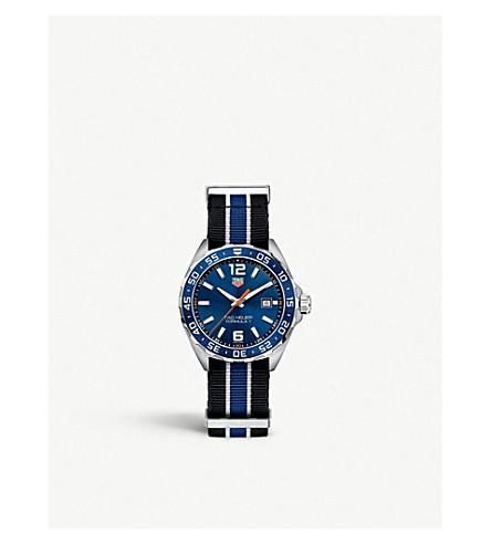 TAG HEUER WAZ1010FC8197 公式1不锈钢表 (蓝色