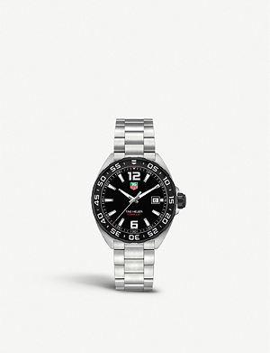 TAG HEUER WAZ1110.BA0875 Formula 1 stainless steel watch