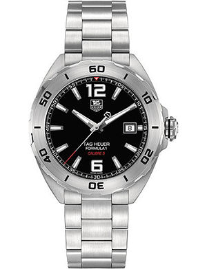 TAG HEUER WAZ2113.BA0875 Formula 1 polished steel watch