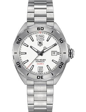 TAG HEUER WAZ2114.BA0875 Formula 1 polished steel watch