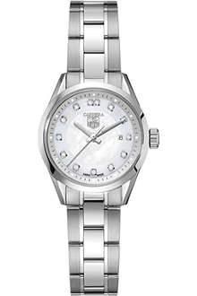 TAG HEUER Carrera diamond dial watch 27mm