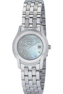 GUCCI YA055501 G Class bracelet watch
