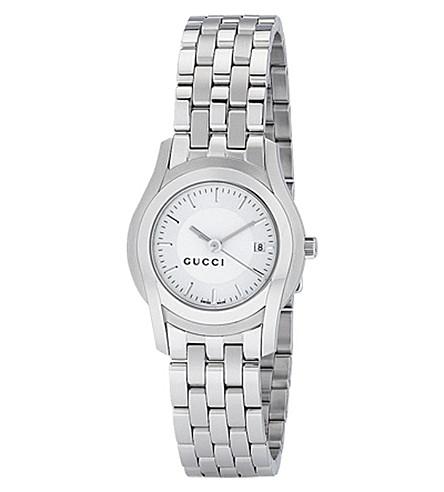 GUCCI YA055519 G-class bracelet watch (Silver