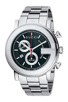 GUCCI YA101309 G-Chrono Collection stainless steel watch