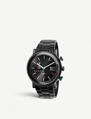GUCCI YA101331 G-Chrono Collection PVD and stainless steel watch