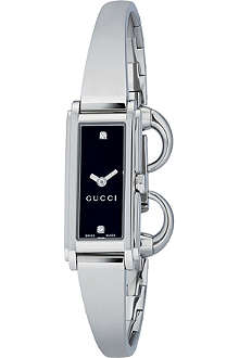 GUCCI YA109518 G-Line Collection stainless steel watch