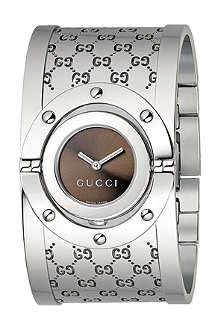 GUCCI YA112401 Twirl bangle wide watch