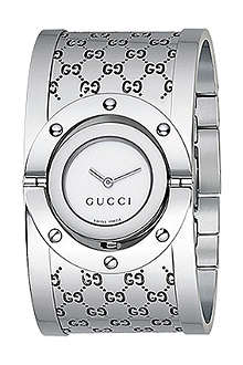 GUCCI YA112413 Twirl bangle watch